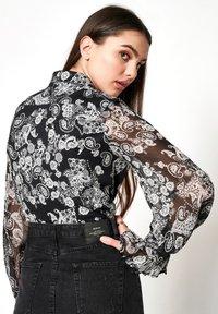 DESOTO - GELFREI - Button-down blouse - dunkelblau - 1
