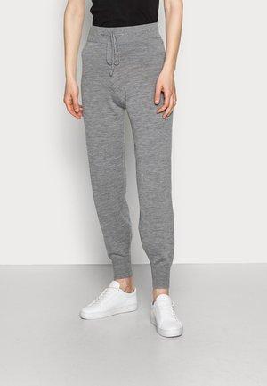 KARINA - Teplákové kalhoty - grey melange