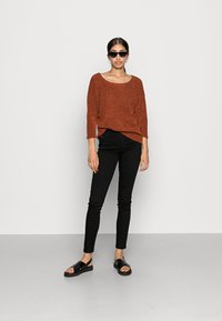 ONLY - ONLALBA - Long sleeved top - picante - 1