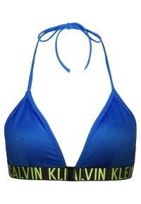 Calvin Klein Underwear - Bikini top - electric blue lemonade - 1