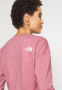 The North Face - ENSEI TEE  - Langærmede T-shirts - mesa rose - 2
