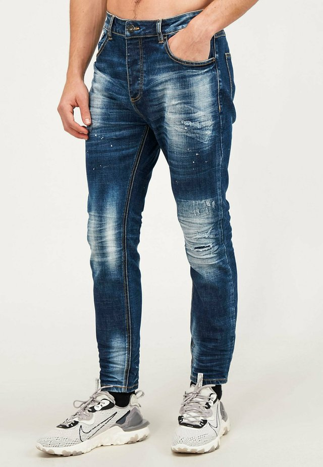 KAYDON - Jeans slim fit - mid blue wash