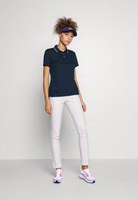 Nike Golf - DRY VICTORY - Sports shirt - college navy/white/white - 1