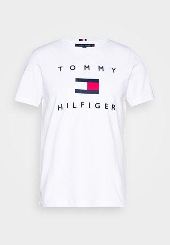 FLAG TEE - T-shirt imprimé - white