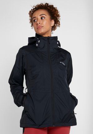 WINDGATES JACKET - Hardshellová bunda - black