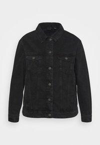 Vero Moda Curve - VMKATRINA JACKET - Denim jacket - black - 5