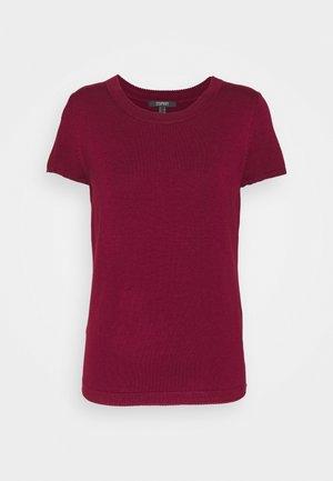 ECO VERO  - Basic T-shirt - bordeaux red