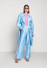 DESIGNERS REMIX - HAILEY FLARE - Trousers - sky blue - 1