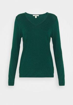 Pullover - dark teal green