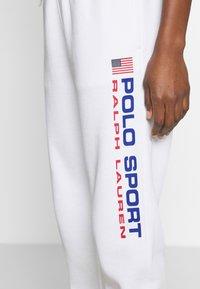 Polo Ralph Lauren - ANKLE PANT - Spodnie treningowe - white - 4