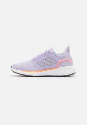 EQ19 RUN - Nøytrale løpesko - purple tint/matte silver/screaming orange