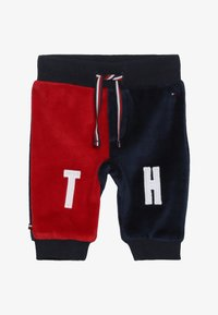 Tommy Hilfiger - BABY COLORBLOCK - Trousers - black iris - 2