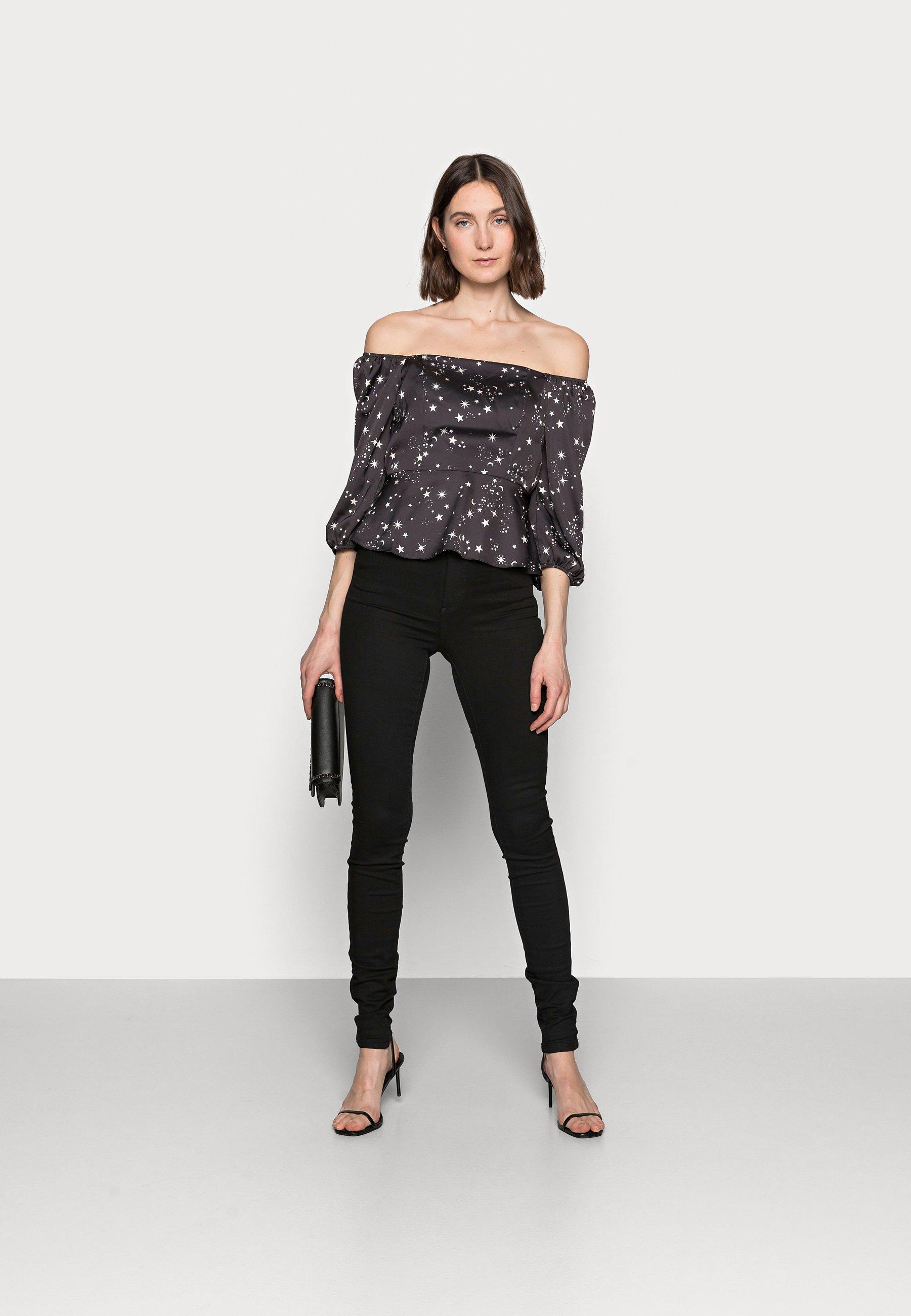 Women STAR HIGH SHELL - Long sleeved top