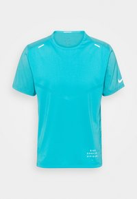 Nike Performance - RISE - Triko spotiskem - chlorine blue - 4