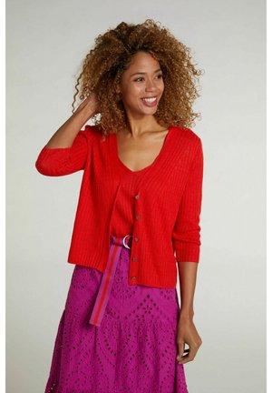 Vest - fiery red