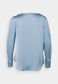 River Island - SAPPHIRE COWL NECK - Blouse - blue - 1