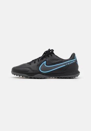 REACT TIEMPO LEGEND 9 PRO TF - Astro turf trainers - black/iron grey