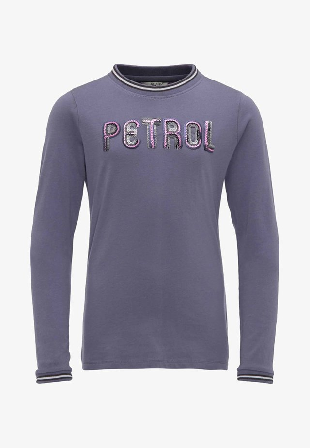 Long sleeved top - faded lilac