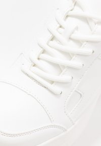 Topshop - CALI CHUNKY TRAINER - Sneakersy niskie - white - 2