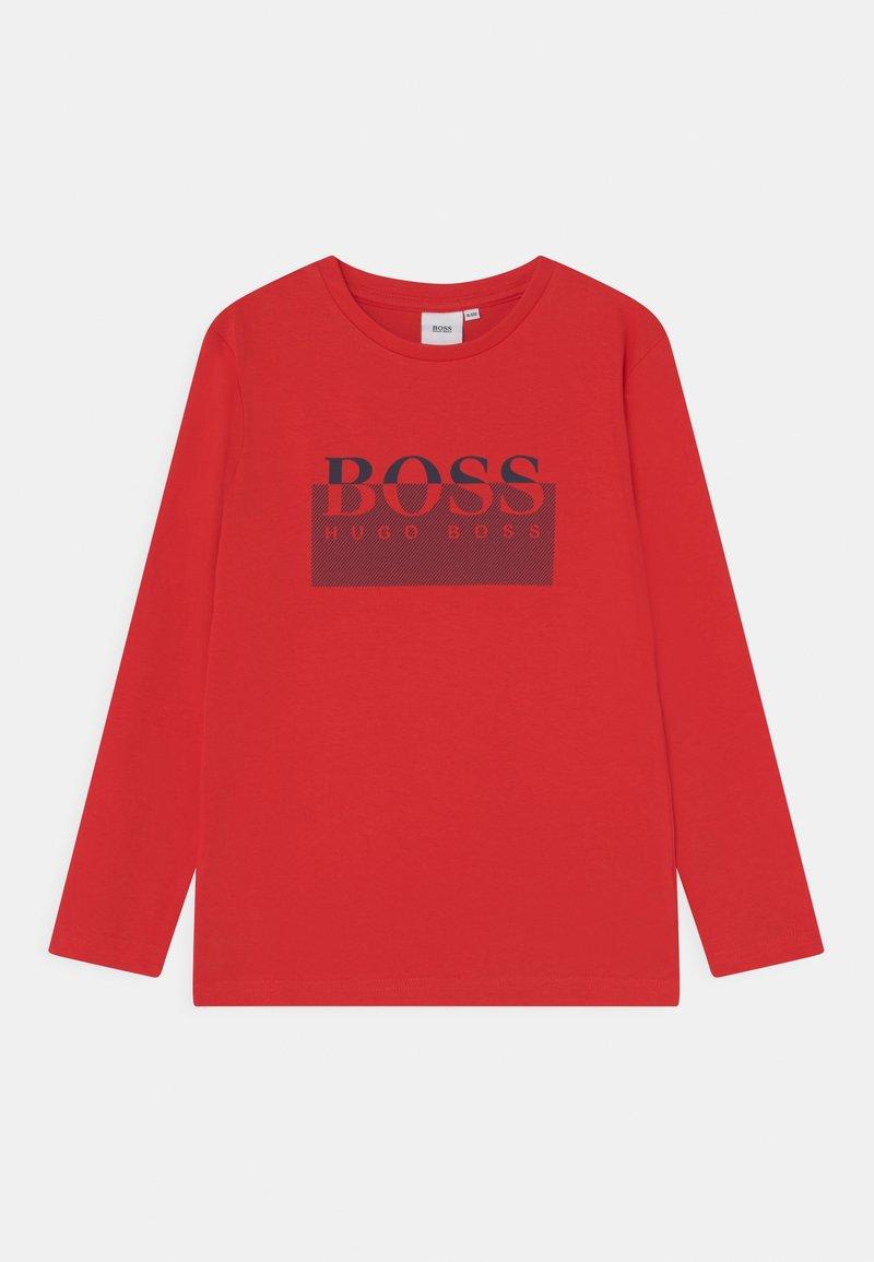 BOSS - LONG SLEEVE - Longsleeve - red