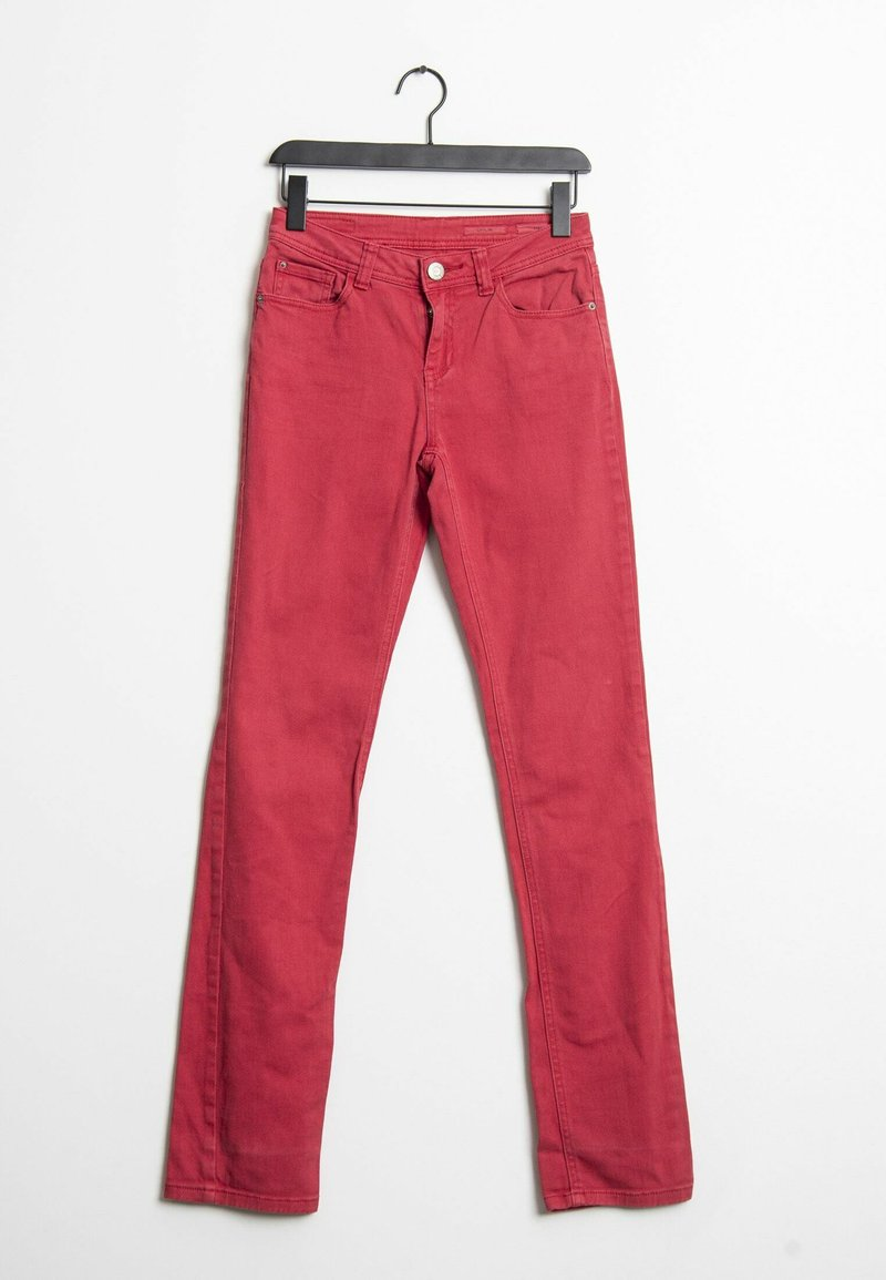 Opus - Straight leg jeans - red