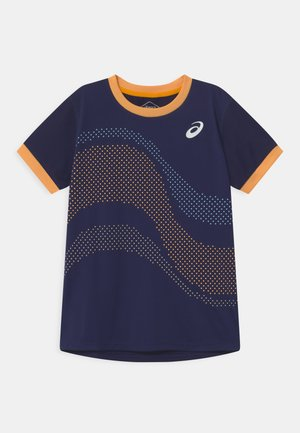 TENNIS UNISEX - Camiseta estampada - peacoat