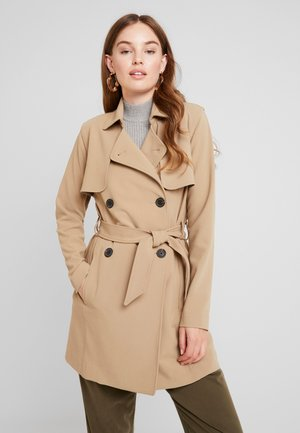 DRAPEY COAT - Trench - kelp