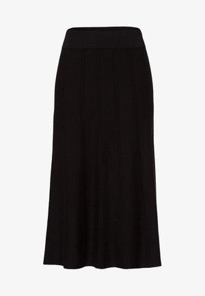 AUSGESTELLT - A-line skirt - black
