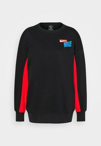 Nike Performance - DRY GET FIT FC  - Sweatshirt - black/chile red/white - 3