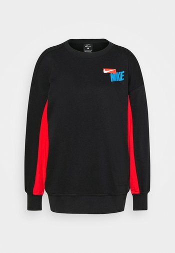 DRY GET FIT FC  - Sweatshirt - black/chile red/white