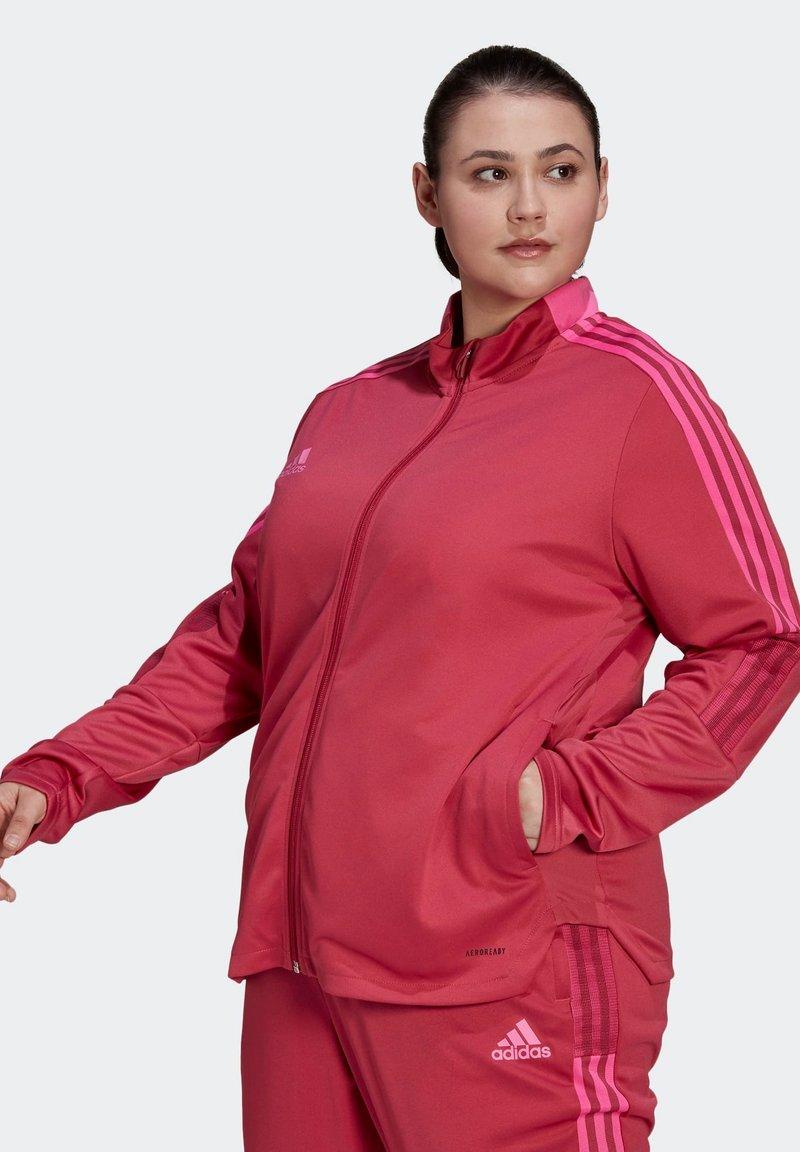 adidas Performance - TIRO  - Training jacket - pink