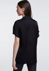 SET - Button-down blouse - black - 2