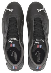 Puma - BMW M MOTORSPORTS R-CAT RUNNING SHOES - Trainers - black-black