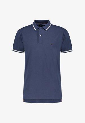 BASIC TIPPED REGULAR - Polo shirt - indigo (517)