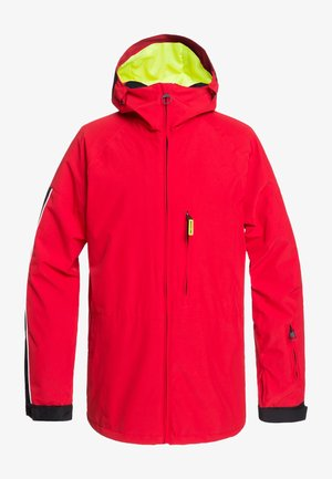 RETROSPECT - Snowboard jacket - racing red