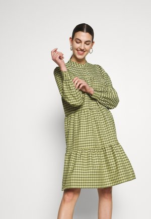 CAMILLE DRESS - Shirt dress - sage green