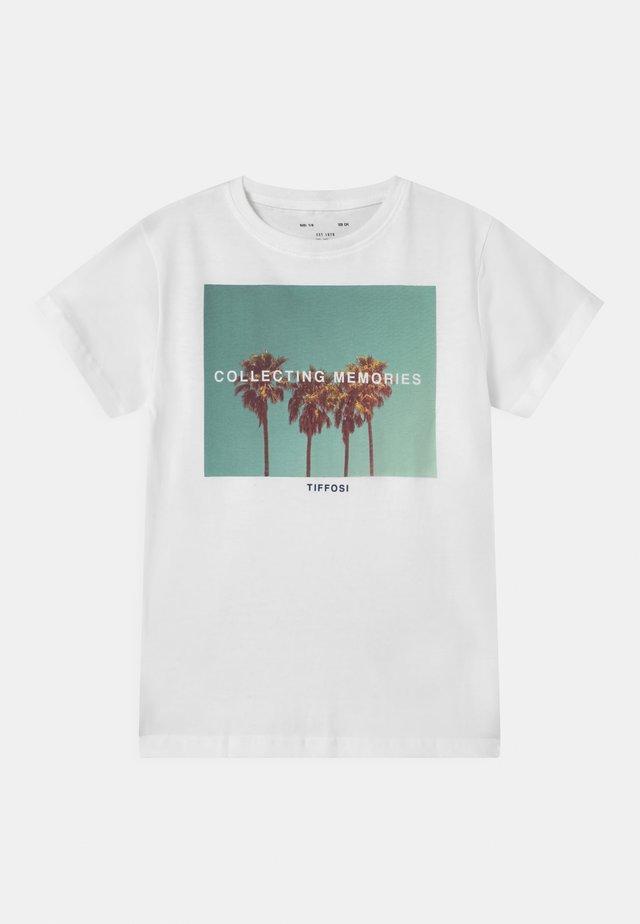 URIAH - T-shirt print - white