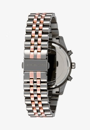 LEXINGTON - Montre à aiguilles - gunmetal/roségold-coloured