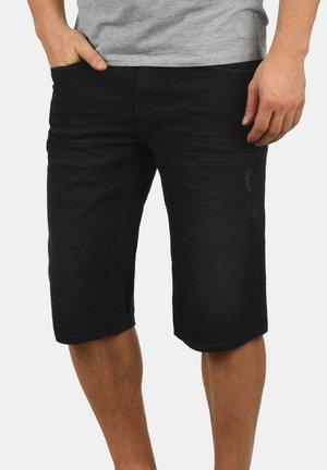 DENON - Short en jean - denim black