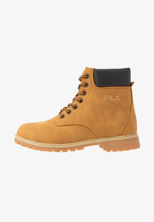 MAVERICK - Lace-up ankle boots - chipmunk