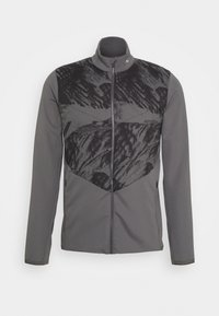 Kjus - MEN RELEASE PRINTED JACKET - Soft shell jacket - steel grey/dark dusk - 0