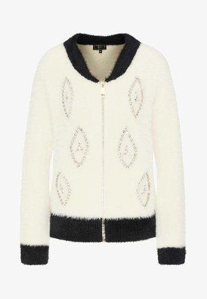 Cardigan - off-white/black