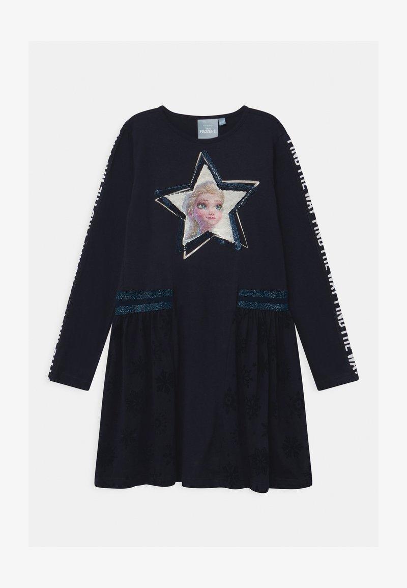 Desigual - DISNEY FROZEN ELSA - Žerzejové šaty - blue