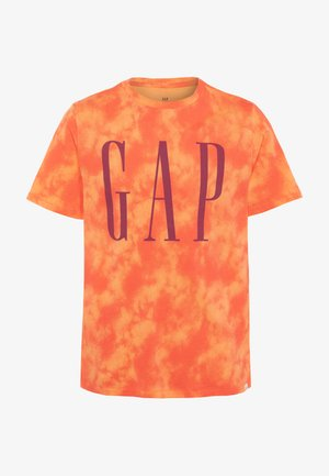 BOY LOGOMANIA - Print T-shirt - orange