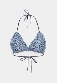 Becksöndergaard - DAMITA FRILL  - Bikinitop - forever blue - 0
