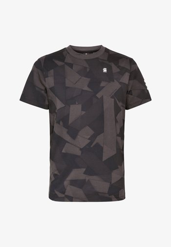 TAPE CAMO AOP ROUND SHORT SLEEVE
