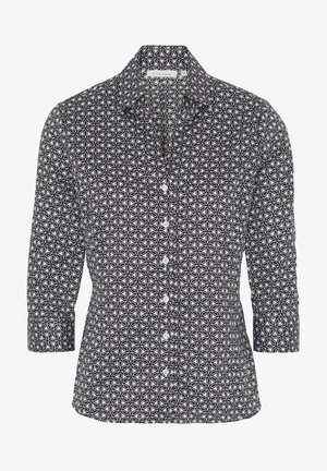 Button-down blouse - black/white