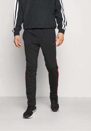 Spodnie treningowe - black/scarlet