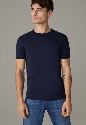 VINCENT - T-shirt basic - dunkelblau
