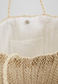 Seafolly - CARRIED AWAY CROCHET BAG - Tote bag - natural - 4